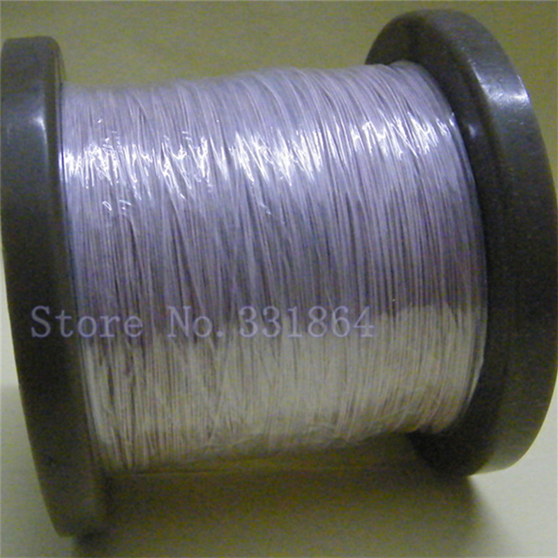 0.1mmx8 strands Liz multi-strand polyester silk wire yarn envelope 500m