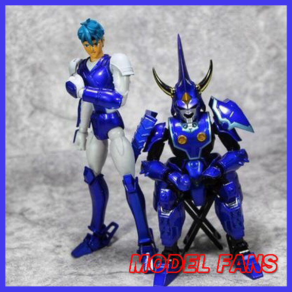 MODEL FANS INSTOCK HITOY model Ronin Warriors YoroiDen Samurai Troopers Touma Hashiba Metal Cloth Armor Plus new arrived japanese samurai armor 3d metal assembly model puzzles creative handmade toys