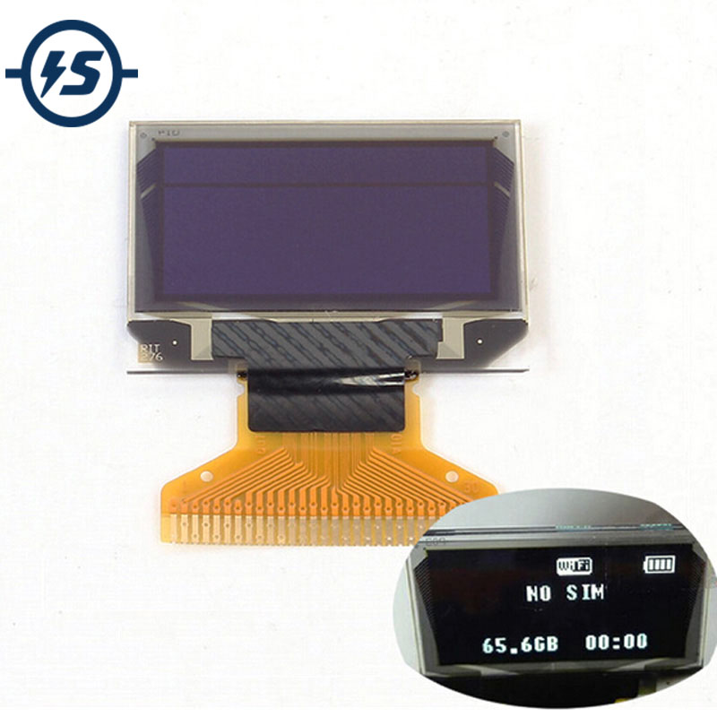 12864 LCD Screen Board SSD1306 0.96 Inch 128X64 White OLED Display 0.96