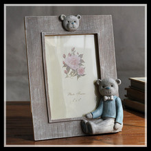 5x7 Inch Photo Frame Modern Frames For Pictures Bear Decoration Home