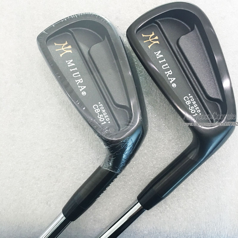 Mew Golf clubs MIURA CB-501 FORGED Golf irons set 4-9PG Golf Graphite or Steel Shaft R or S Flex Clubs Set Cooyute Free shipping