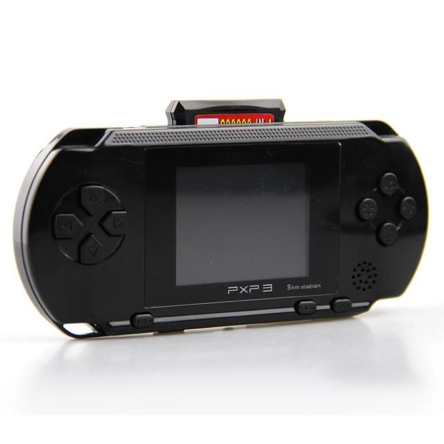 b218113000b HOT SALE Quality For PXP 3 Game Console Handheld Portable 16 Bit Retro 150  Games For Kids High Quality Christmas Gift
