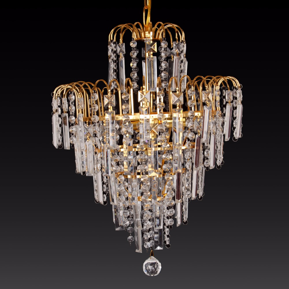 ship from usa crystal chandelier light fixtures lamps. Black Bedroom Furniture Sets. Home Design Ideas