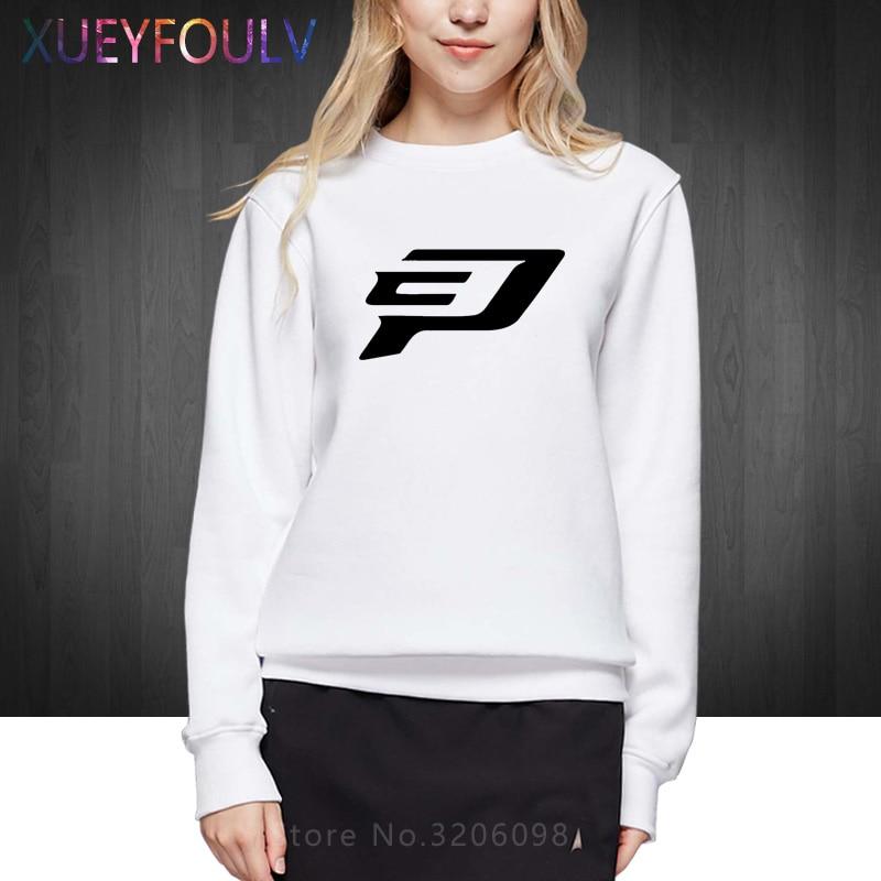 Chris Paul Logo Women Fashion Sweatshirts Cotton Woman Hoodies Pullover Free Shipping OT 284 In From Womens Clothing