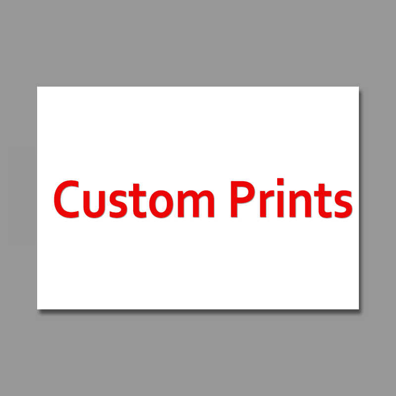 Drop Shipping Customized Prints Painting Custom Made Canvas Picture Framed 1 Panel Home Decor Canvas Gallery Art