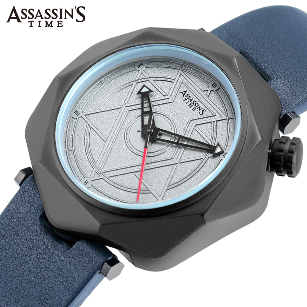 Assassin's Time Mens Watches Top Brand Luxury Waterproof Men Clock - Men's Watches