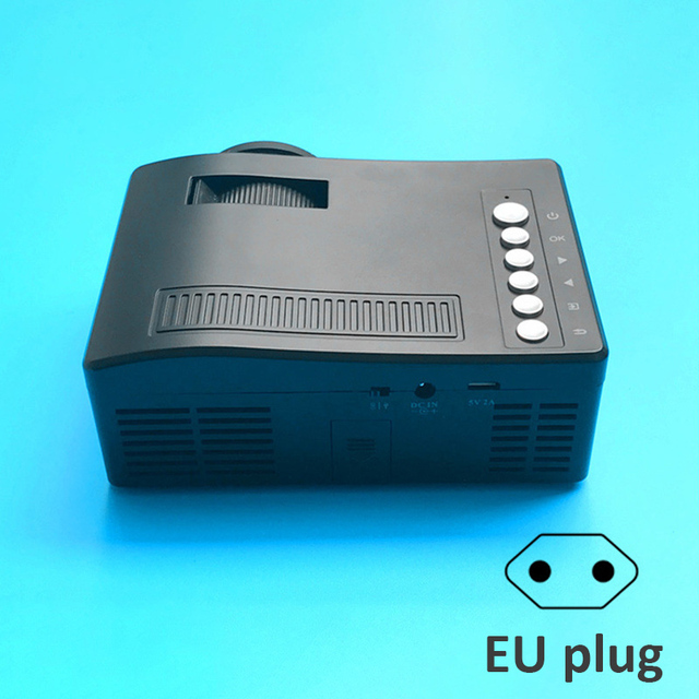 New Price Projector HD 1080P Mini Portable Support TF Card Durable For Home Cinema Theater New SL@88
