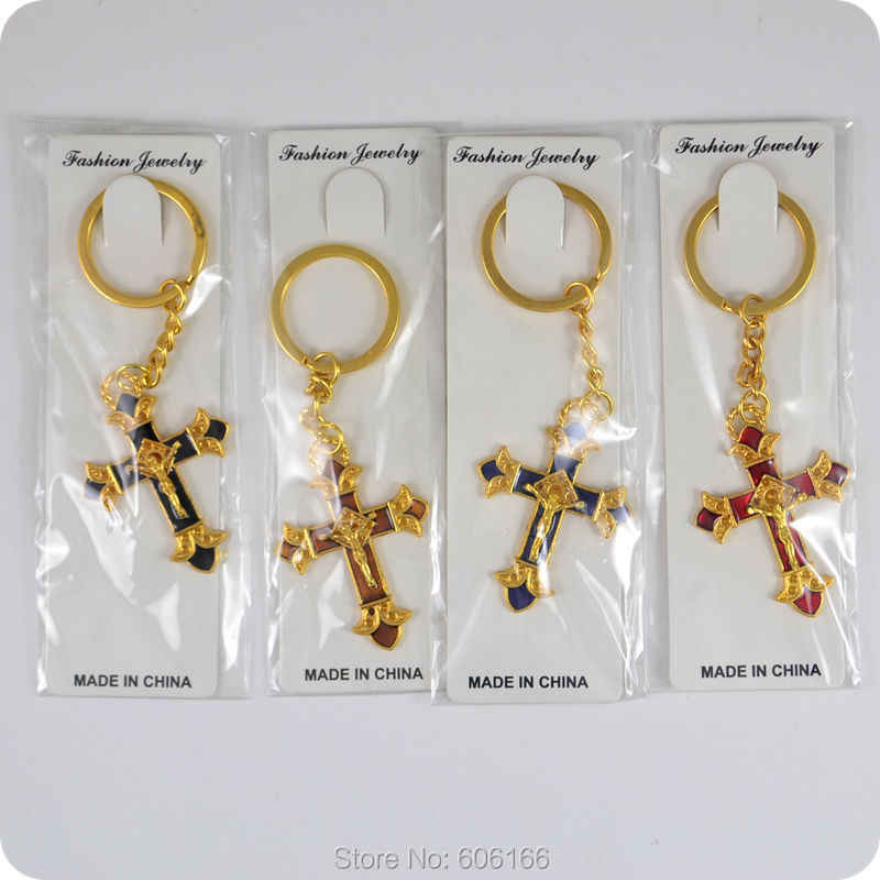 Detail Feedback Questions about 96x JESUS Cross Crucifix Pendant Key