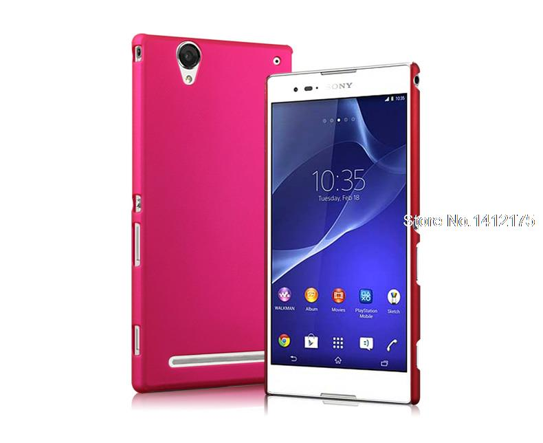 best website bf2fb 98688 T2 Ultra Fashion Matte Hard Back Cover Case for Sony Xperia T2 Ultra ...