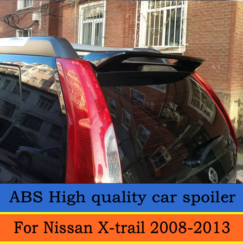 Bidirectional flow spoiler for 2008 to 2013 x trail x trail high quality rear window roof spoiler for nissan x trail by primer