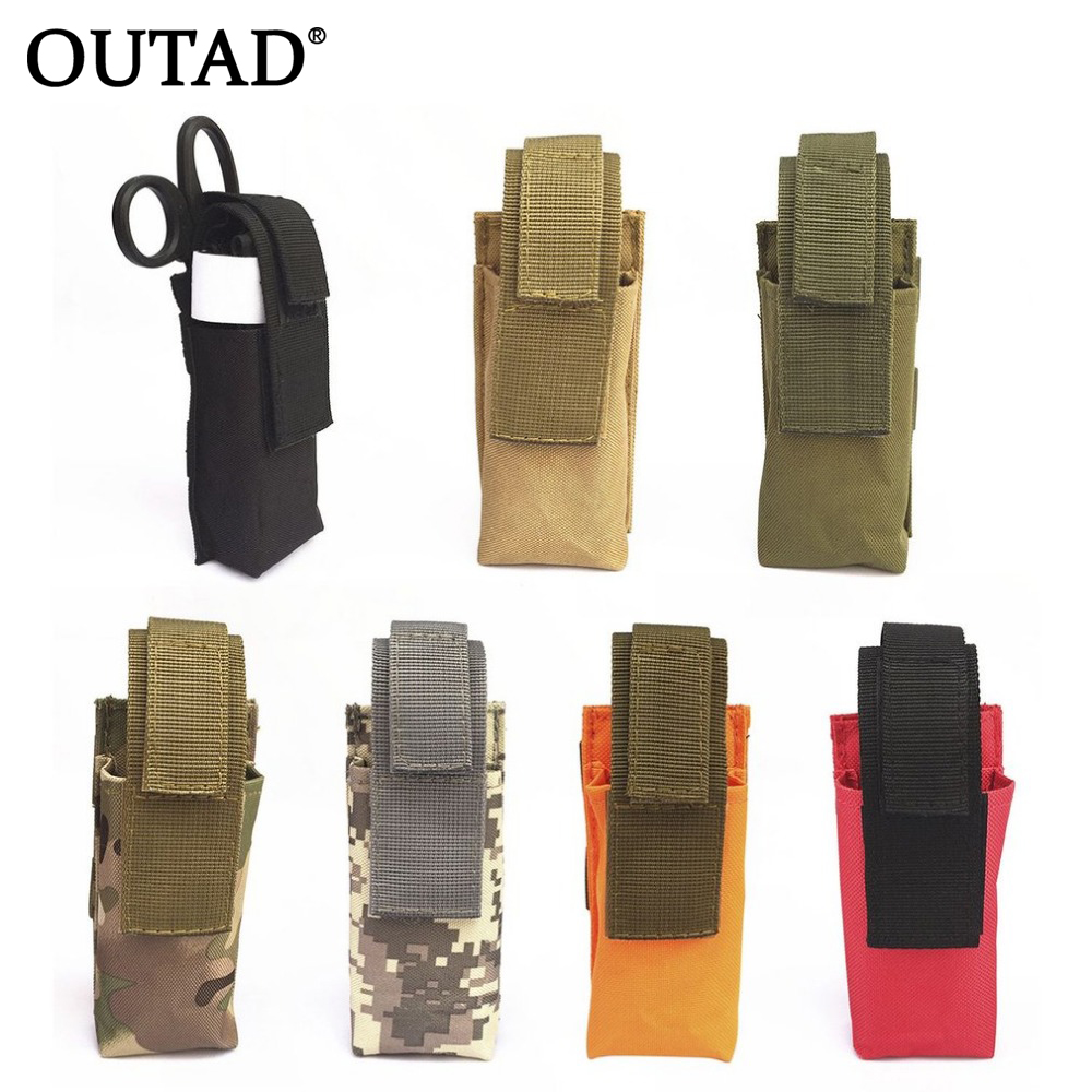 OUTAD Waterproof Tactical Tourniquet Pouch Outdoor Sports Accessories Small Hanging Package Medical Large Scissors Bag