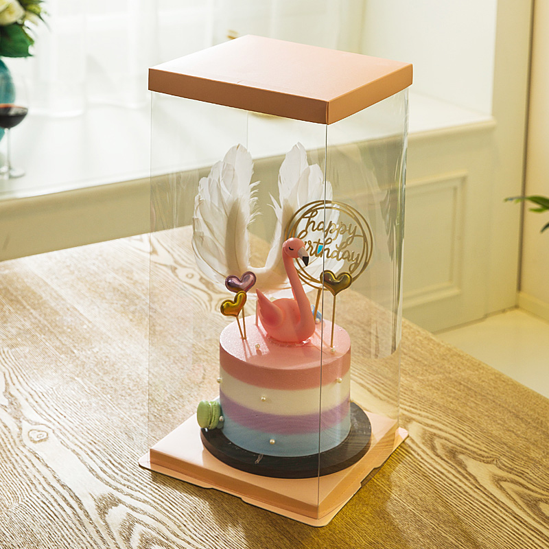 5 Set For 6 Quot 8 Quot Clear Tall Cake Packaging Boxes High