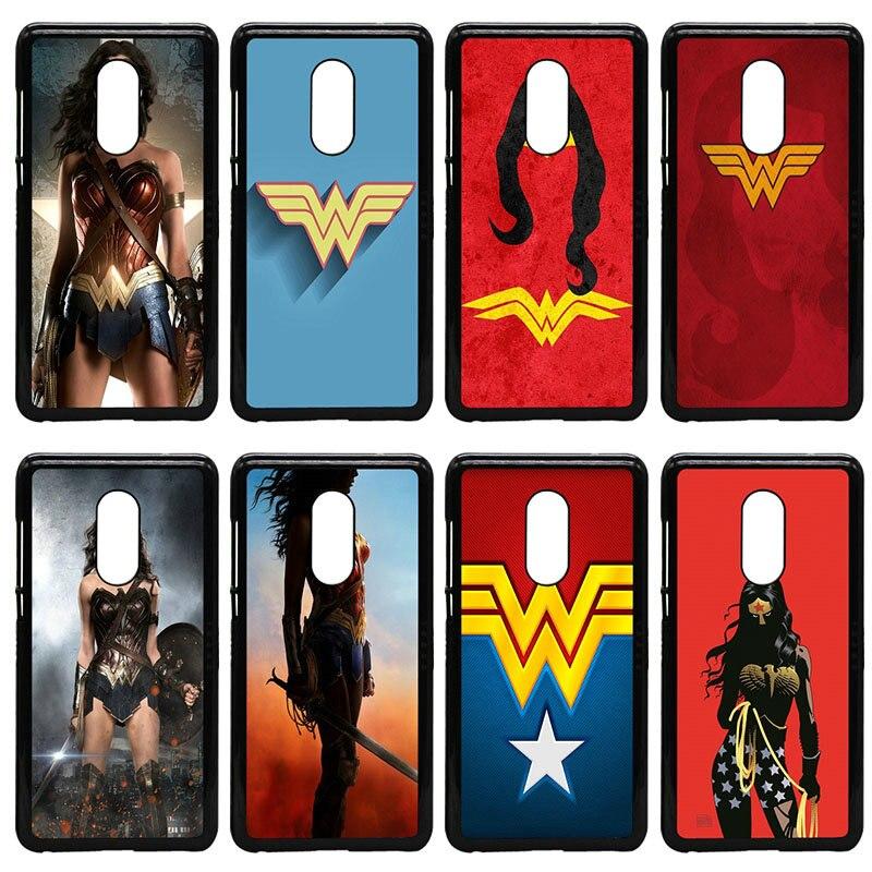 Wonder Woman DC Superhero Moblie телефон случаях Жесткий PC Обложка Для Сяо mi красный mi 3X mi 6 5 5S плюс Note 4X2 3 3 s 4 Pro премьер Shell