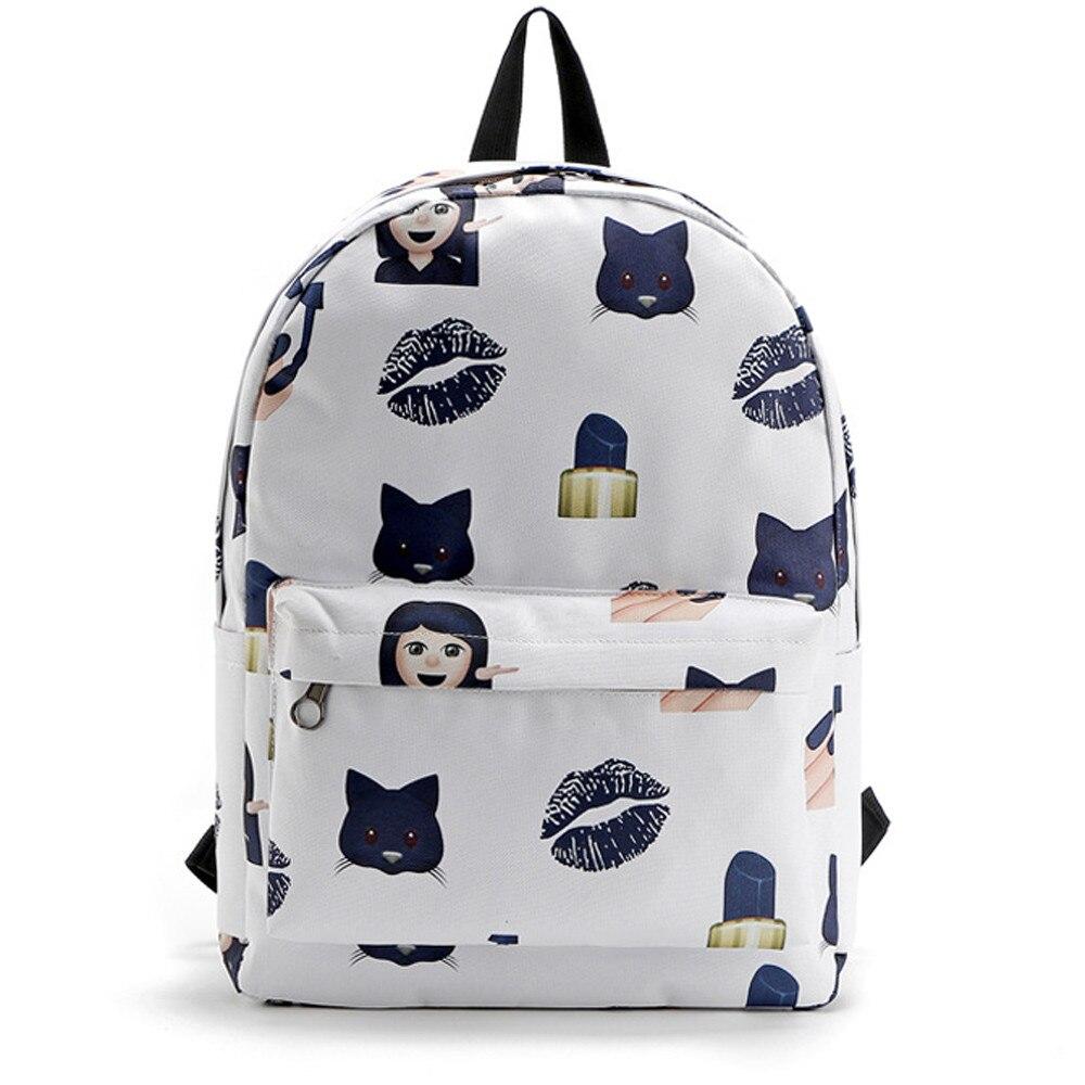 Aliexpress.com : Buy Fashion Cute Emoji Printed Women Travel ...