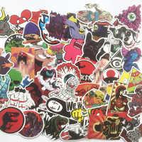 50 Pcs Il più popolare del Pvc Impermeabile Del Fumetto graffiti Adesivi Per Il Computer Portatile Moto Bagaglio di Skateboard Chitarra Decalcomania Sticker