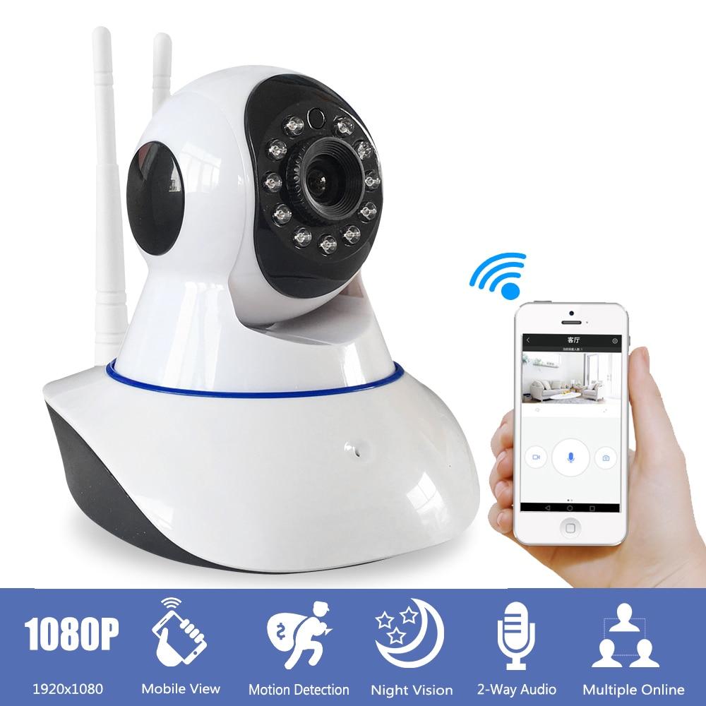 2MP 1080P Wifi IP Camera Wireless CCTV Security Camera Baby Monitor IR Night Vision Two Way Audio Yoosee Mini Camera for Home цена 2017