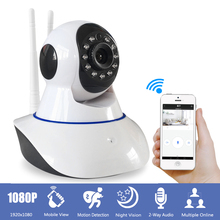 2MP 1080P Wifi IP Camera font b Wireless b font CCTV Security Camera Baby Monitor IR