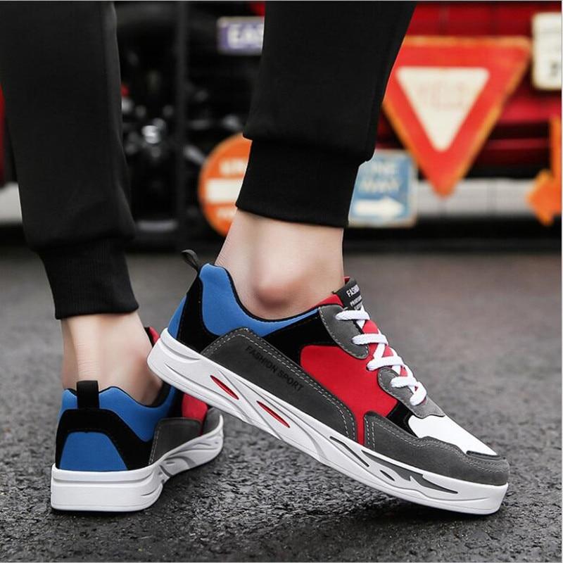 2018 스프링 보드 신발 한국어 버전 여러 가지 빛깔의 - 남성용 신발 - 사진 4