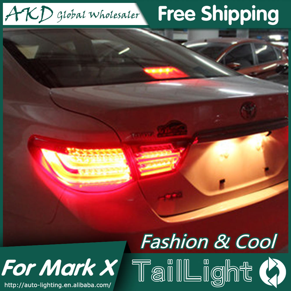 AKD Car Styling for Toyota Reiz Tail Lights 2010-2012 Mark X LED Tail Light Rear Lamp DRL+Brake+Park+Signal 70mm diamond coated drill bit set kit hole saw holesaw glass granite tile cutter holer cutting tool for glass ceramic marble