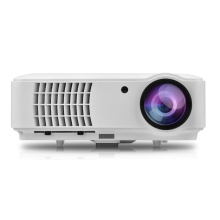 RD-804 Full Color 150″ LED Projector 2500 Lumens 1080P HD Projection HDMI VGA AV USB Remote Controller for Notebook Laptop PC