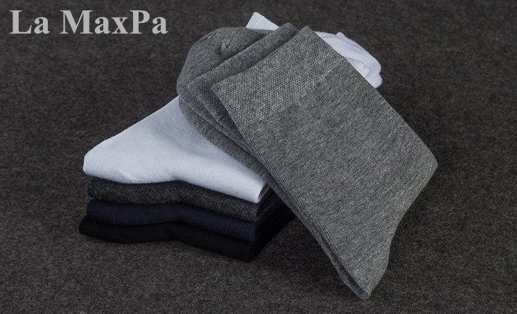 Top Brand Mens Socks 4 Season Men Socks Pure Cotton Socks Black Socks Men