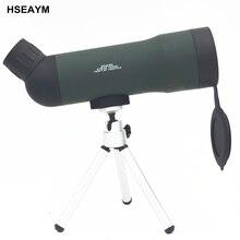 Cheap price HSEAYM Monocular Telescope Hunting 20×50 Binoculars Single-tube Telescopio Binoculo Optical Astronomic Military Spyglass