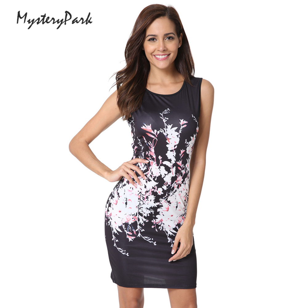 MysteryPark New Women's Fashion Sexy Summer Short Sleeve Brand Dresses High Quality Printed Knitted Elastic Fabrics Dresses ilismaba new ladies fashion sexy autumn long sleeved brand dresses high quality printed knitted elastic fabric women s dress