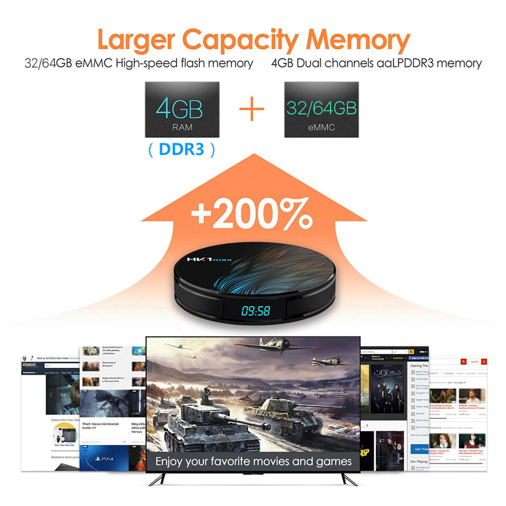 Image 3 - Europe IPTV Subscription HK1 Max Smart TV Box Android 9.0 Arabic French IPTV France Canada Spain Portugal Italy UK Turkey IP TV-in Set-top Boxes from Consumer Electronics