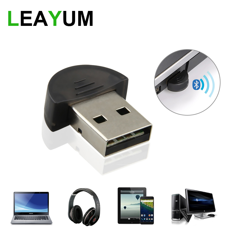 Imagen de Bluetooth Computer Adapter Mini Wireless USB Bluetooth Dongle V2.0 EDR 100m Dual Mode For Laptop Win7 /8/XP For Computer