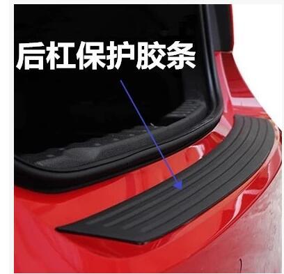 Car Rear Bumper Scuff Protective Stickers for FIAT viaggio Ottimo 500 500L Uno idea Freemont Panda Tipo palio accessories