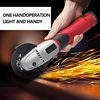 Hephaestus Angle Grinder With 12V Lithium Battery Angular Power Tool Grinding Metal Wood Cordless Cutting And