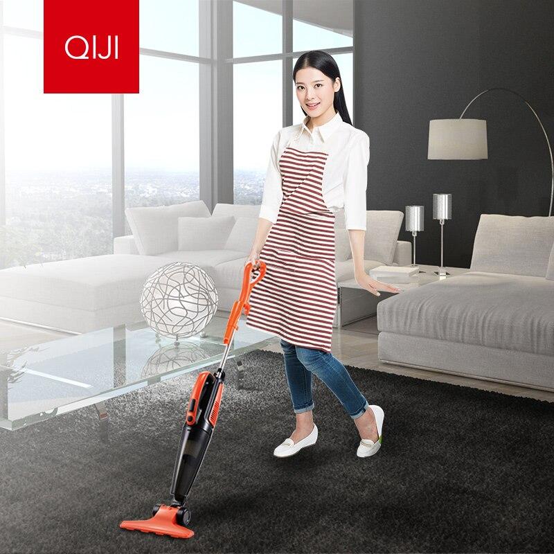 все цены на  QIJI Home Handheld vacuum cleaner Large suction Small-scale Mites High Power QX-4001 vacuum cleaner Free shipping  онлайн