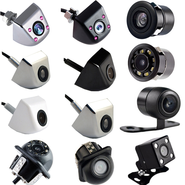 Viecar Car Rear View Camera Night Vision Waterproof Infrared Auto Parking Camera Back HD CCD Wire 170 Degree