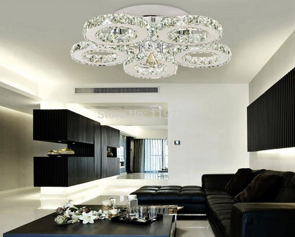 2016 New Arrival Modern Design Restaurant Led Crystal Chandelier Living  Room Light Led Lamps Lamparas Lights Lustres Luminaire In Chandeliers From  Lights ... Part 3