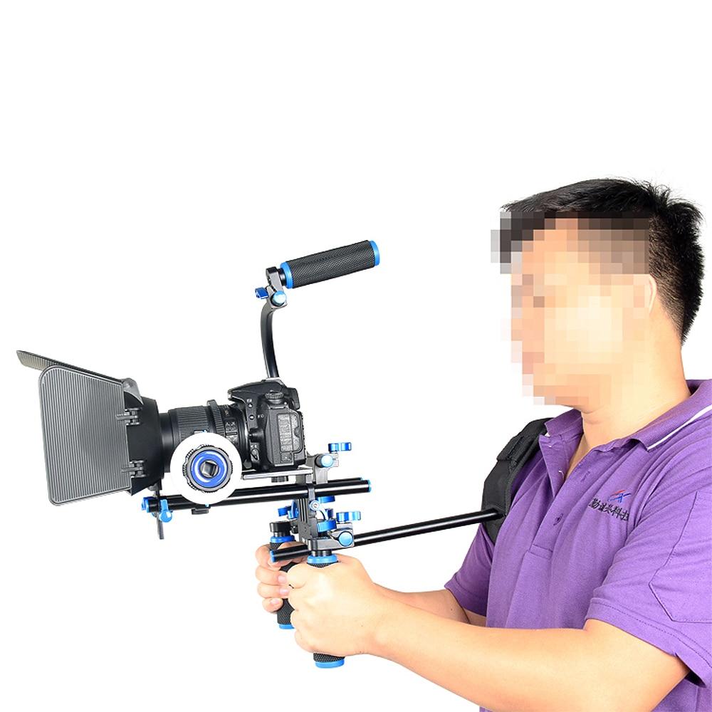4in1 DSLR Rig Set Komplet për filmin e sistemit të - Kamera dhe foto - Foto 4