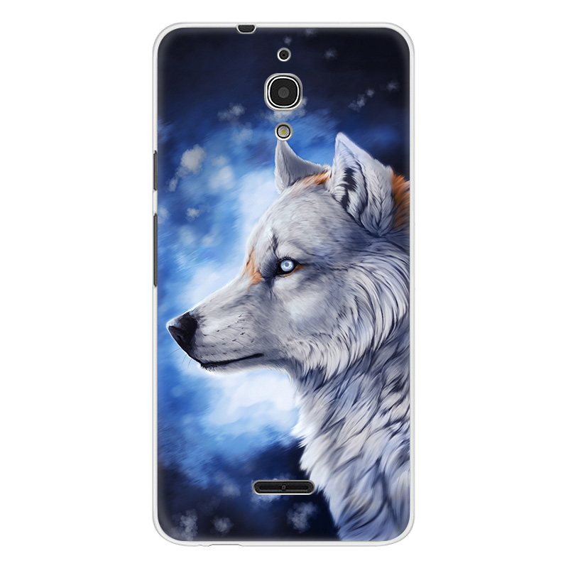 Phone Case For Alcatel Idol 5 A3 A7 XL A5 LED PIXI 4 (4 5 6) 3G 4G U5 HD A50 A30 Black Wolf Lion Back Cover TPU Soft Silicone