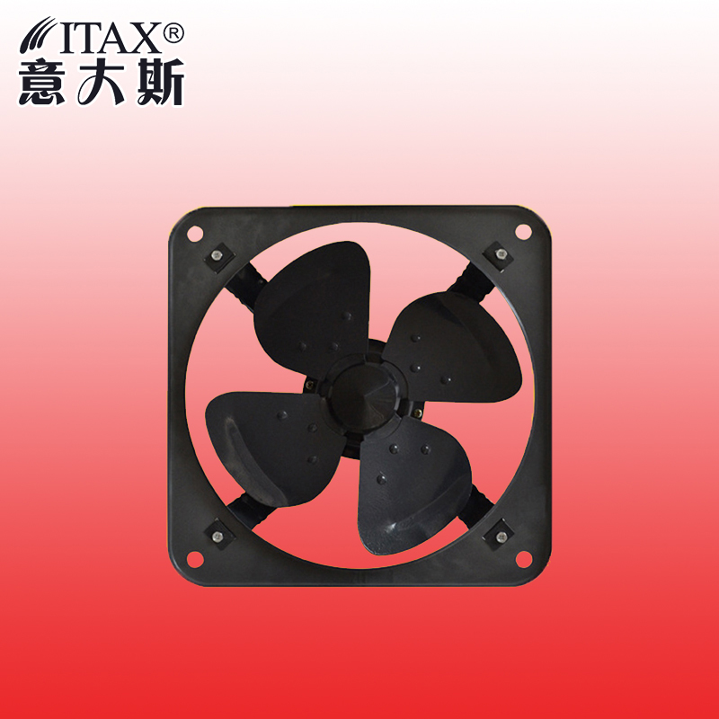 Metal Shutter Exhaust Fan for Garage Shed Pole Barn Hydroponic Ventilation Professional Grade Products 290mm ITASFA-250 цена и фото
