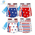 Pink Heroes 4pcs/lot Men Underwear Boxers Printing Of Cotton Star Boxer Mens Underwear Fashion Brand Underwear Men Boxer Shorts