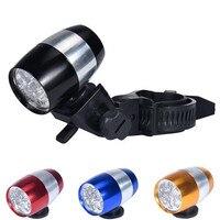 Bicycle Accessories Bike Flashlight Headlamp Waterproof Bike Cycling Head Lamp 6 LED Light Bicycle Flash Safety +CR2032 Battery
