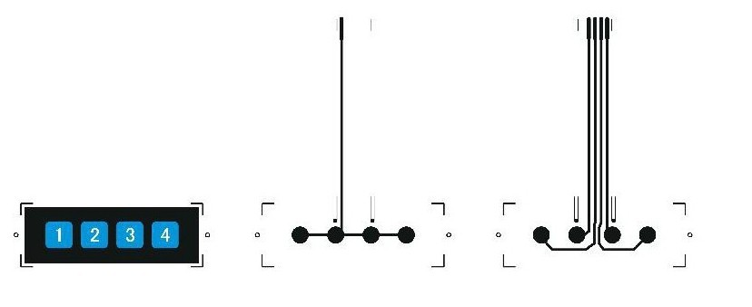[EQHS_1162]  10PCS 1x4 4 Key Matrix Membrane Switch Keypad Keyboard Control Panel SCM  Extended Keyboard Super Slim for Arduino|keyboard controller|keyboard  panelkeyboard arduino - AliExpress | Membrane 1x4 Keypad Wiring Diagram |  | www.aliexpress.com