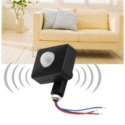 Haute qualité automatique 10 M 12 M PIR 85-265 V sécurité PIR infrarouge détecteur de mouvement mur lumière LED extérieur 160 degrés
