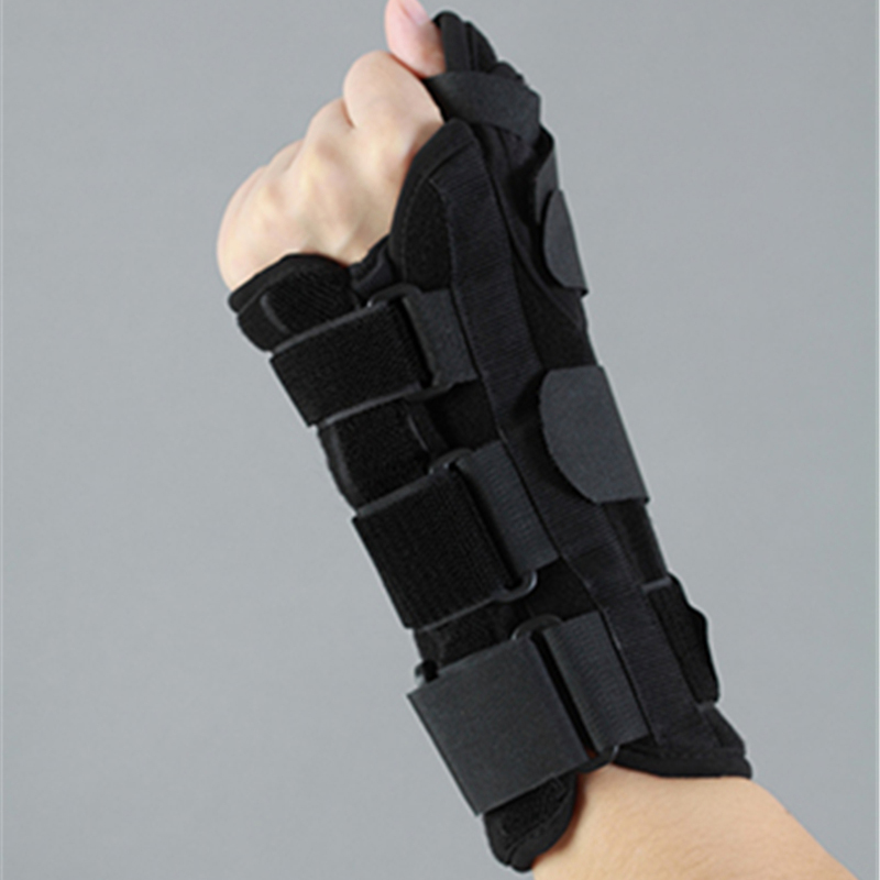 New Thumb Wrist Joint Support Black Heath &beauty From For Thumb Joints Injury Plasticity Aluminum Splint Free Shipping