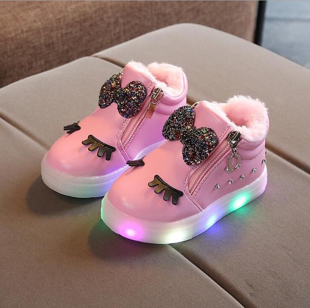 Winter LED Schoentjes 1
