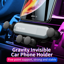 New Gravity Car Phone Holder For iPhone X XS 8 7 Plus Windshield Mount Stand In Air Vent