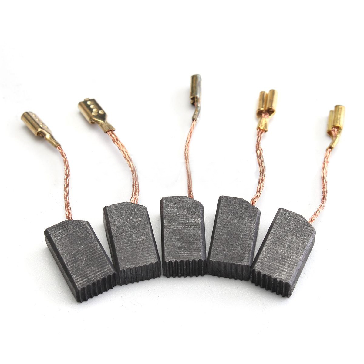 20pcs Conductive Motor Carbon Brushes Set For Angle Grinder Electric Drill Mayitr Tight Copper Wire Carbon Brush 6mm*8mm*14mm dmiotech 10 pcs electric drill motor carbon brushes 10mm 12mm 17mm 4mm 5mm 6 5mm 6mm 7 5mm 8mm 9mm