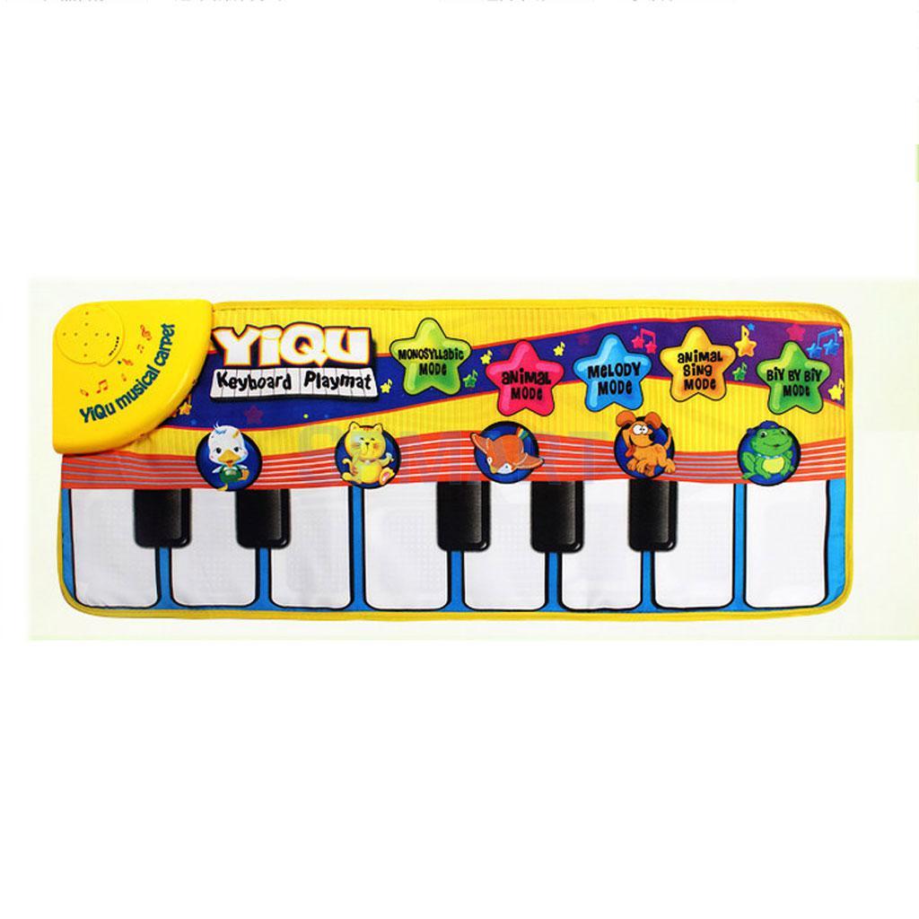 Children Multi-function Music Game Carpet Babies Keyboard Mat-Piano Keyboard