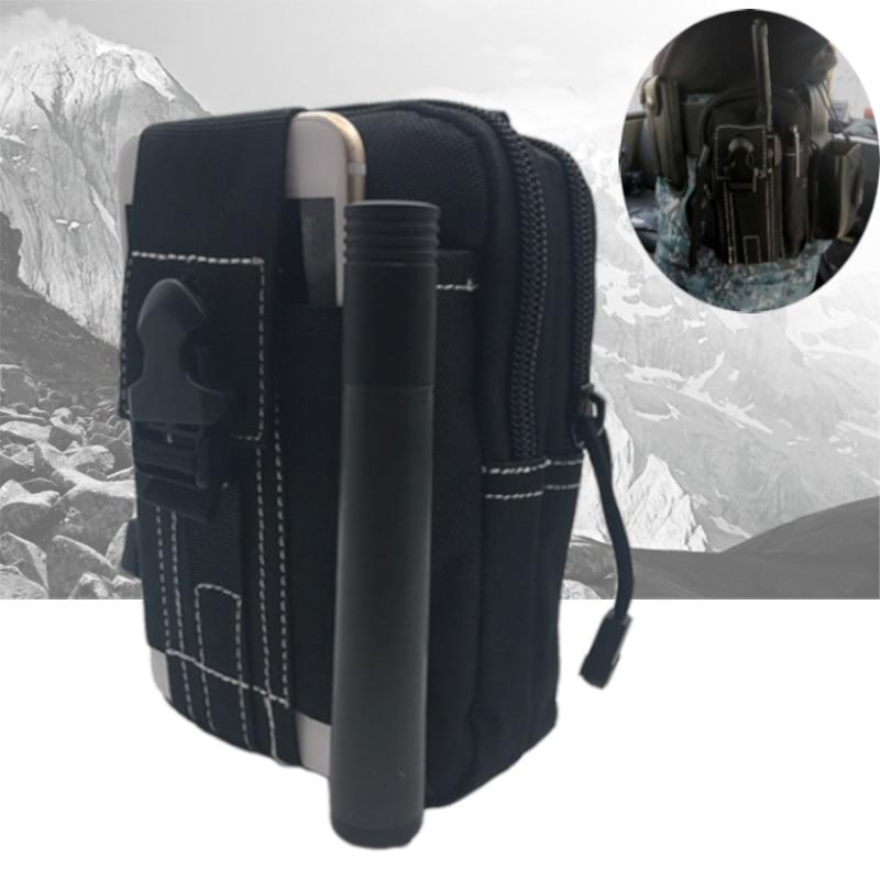 2019 Men Waist Pack Bum Bag Pouch Waterproof Military Belt Waist Packs Molle Nylon Mobile Phone Wallet Travel Tool Hidden Safe