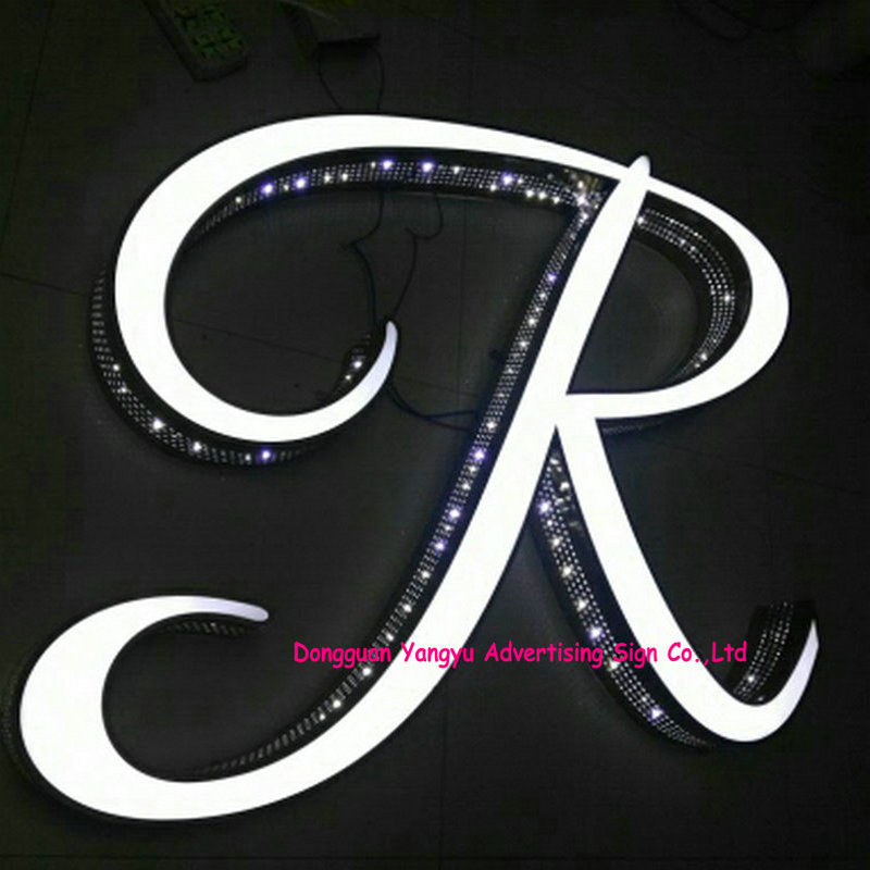Electronic Components & Supplies United Shop Name Board Designs Frontlit Led Alphabet Letters