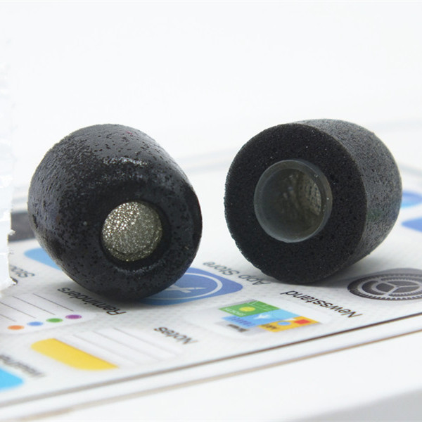 2 pcs Original foam tips TX400 for in ear earphone headset headphone noise isolation enhanced bass Slow rebound sponge