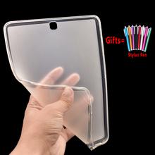 Silikonowe miękkie pokrywa dla Samsung Galaxy S S2 S3 S4 S5e S6 10 5 9 7 8 4 8 0 T860 T865 T800 T810 t820 T830 T720 T710 T700 etui Funda tanie tanio eAmpang Osłona skóra 10 5 For Samsung Galaxy S S2 S3 S4 S5e 10 5 9 7 8 4 8 0 inch Cover Stałe Moda For Samsung Galaxy Tab S2 9 7 T810 T815 T813N T819N